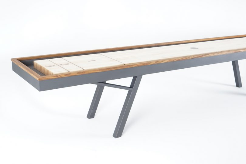It?s Playtime with Sean Woolsey?s Outdoor Shuffleboard Table