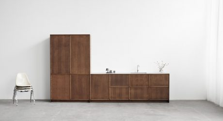FRAME Minimalist Kitchen by Note Design Studio