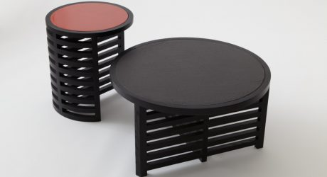 Pastille Minimalist Tables by Vonnegut Kraft with Natalie Weinberger