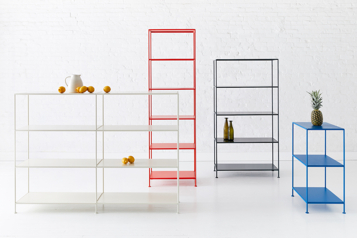 Stille Is Minimalist, Easy-to-Assemble Shelving by Standard Issue