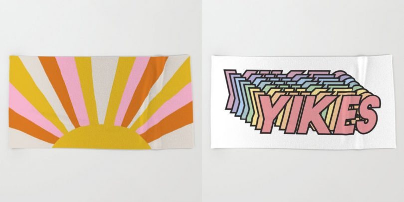 The Countdown to Summer Is on with Society6's Beach Towels