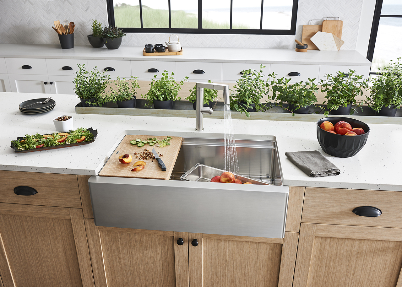 BLANCO Recreates the Classic Farmhouse Sink for Today's Kitchen