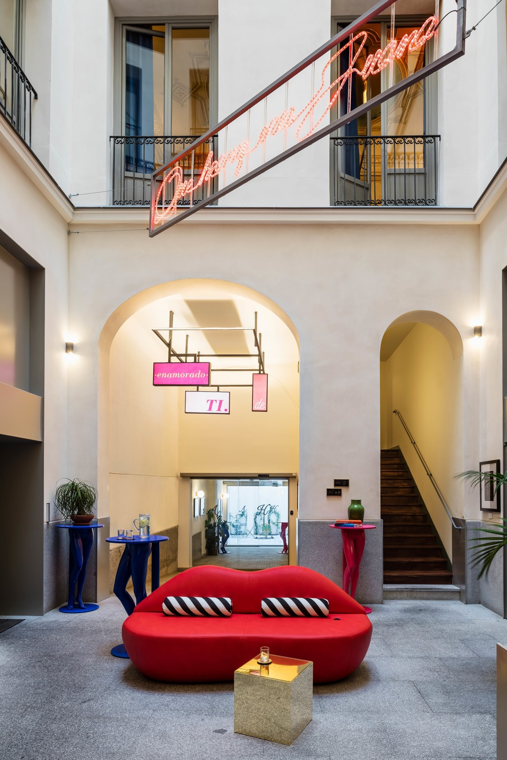 The Axel Hotel Madrid Achieves Character Through Color