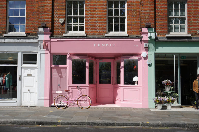Child Studio Creates a London Restaurant Clad in Pink Formica