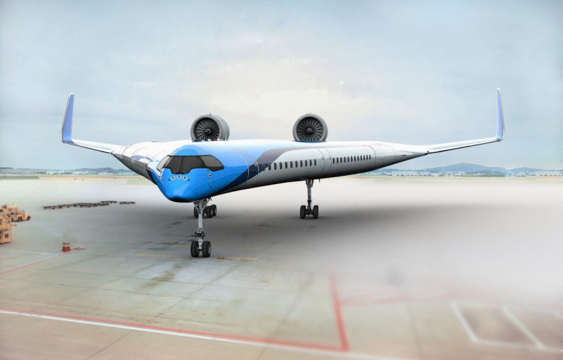 Sustainability Sets to Take off with KLM Royal Dutch Airline?s Flying-V Concept