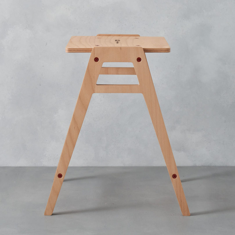 Astonishing The Stackable Flat Pack Lab Stool By King Webbon Real Ocoug Best Dining Table And Chair Ideas Images Ocougorg