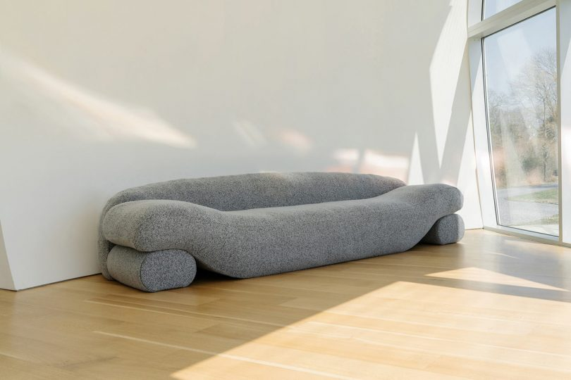 NEA Studio Designed the Beanie Sofa out of Lentils