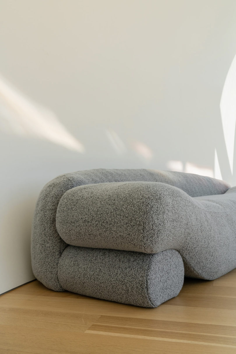 NEA Studio Designed the Beanie Sofa out of Lentils - Design Milk
