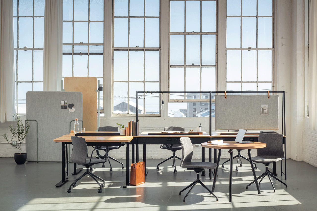 Pair Makes Adaptable Workspaces Possible