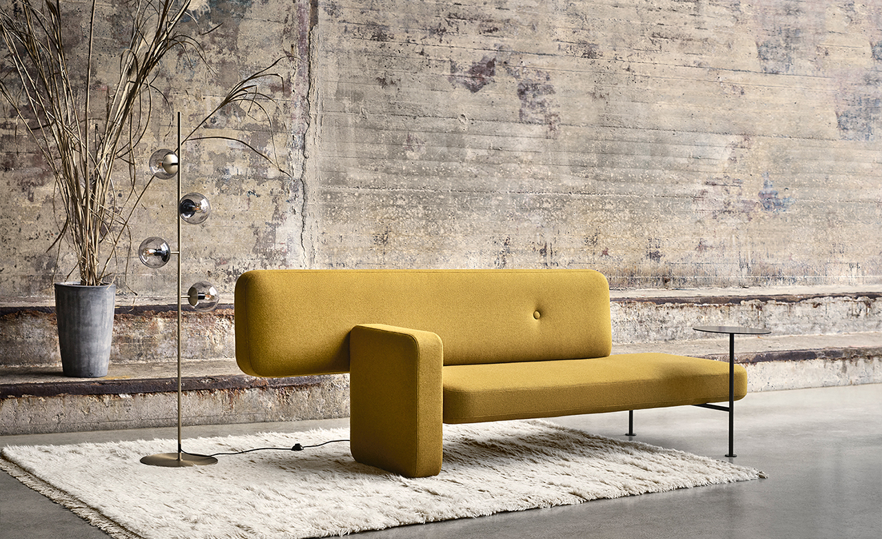 Pebble Is an Asymmetric Sofa That Challenges Convention