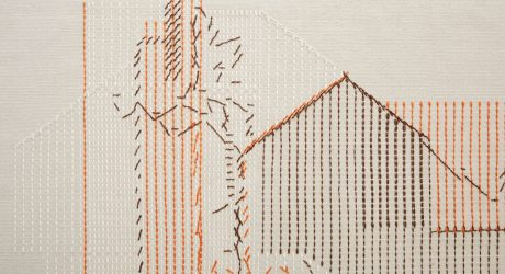 Raw-Edges Flips Traditional Embroidery on Its Head with Backstitch Rugs