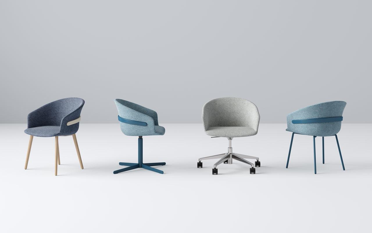Claesson Koivisto Rune Designs the Clip Chair Collection for Studio TK