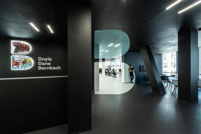 B² Architecture Creates Optical Illusion for a Prague Creative Agency