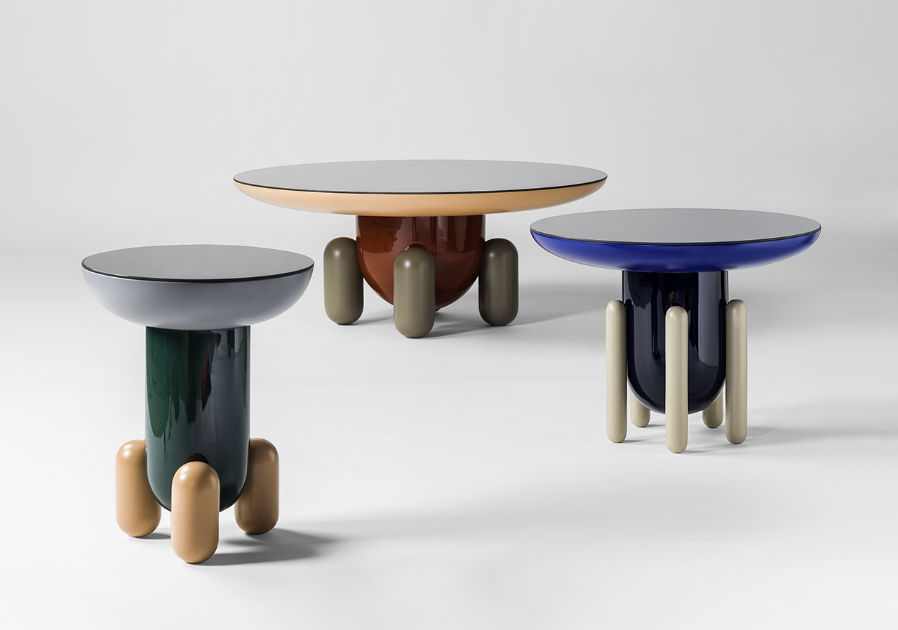 The Explorer Tables Are Inspired by Jellybeans