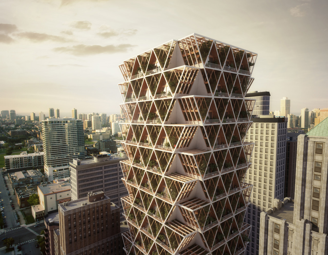 An Ecological High-Rise Designed to Grow with Future Needs