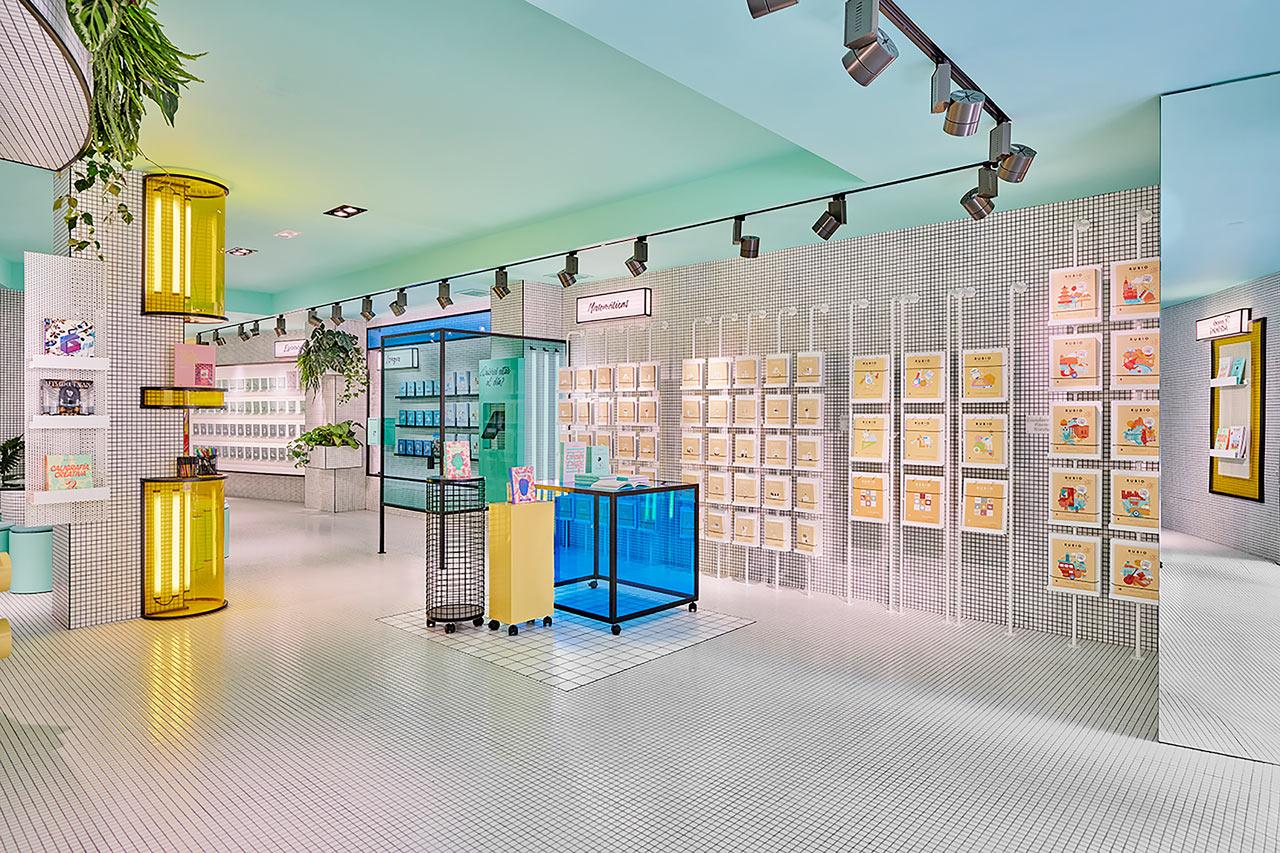 Masquespacio Creates an Interactive Concept Store for RUBIO