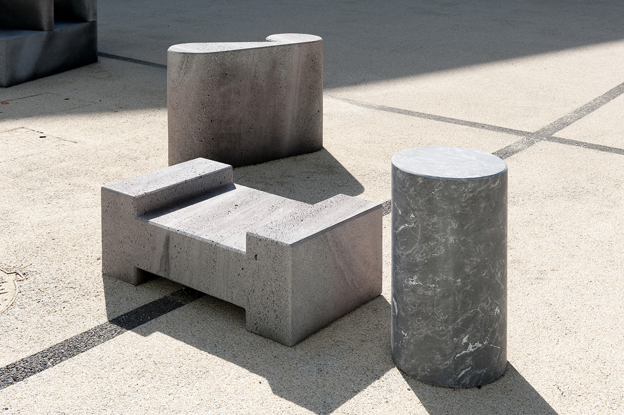 Orchestre: A Series of 26 Outdoor Seating Sculptures
