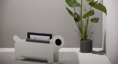 Frederik Roijé Designs a New Family Member to Hold Your Magazines