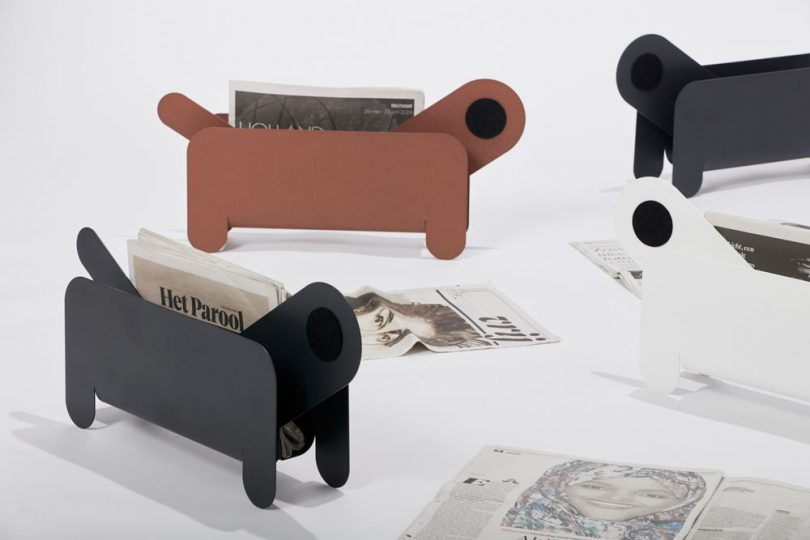 Frederik Roij Designs a New Pet to Hold Your Magazines