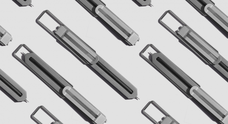 The Flat, Minimalist Pen by CW&T