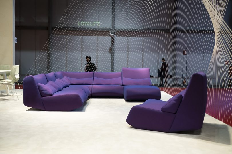 Numen/For Use and Prostoria Collaborate on Lowlife and Loop Sofas