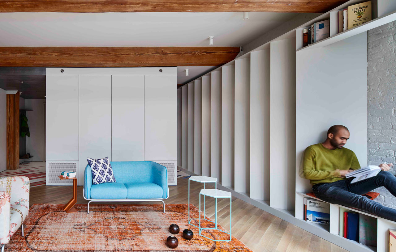 The Brooklyn Publisher's Loft Is Designed to House an Enormous Book Collection