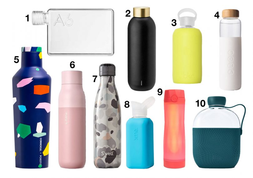 10 Reusable Water Bottles to Keep You Hydrated