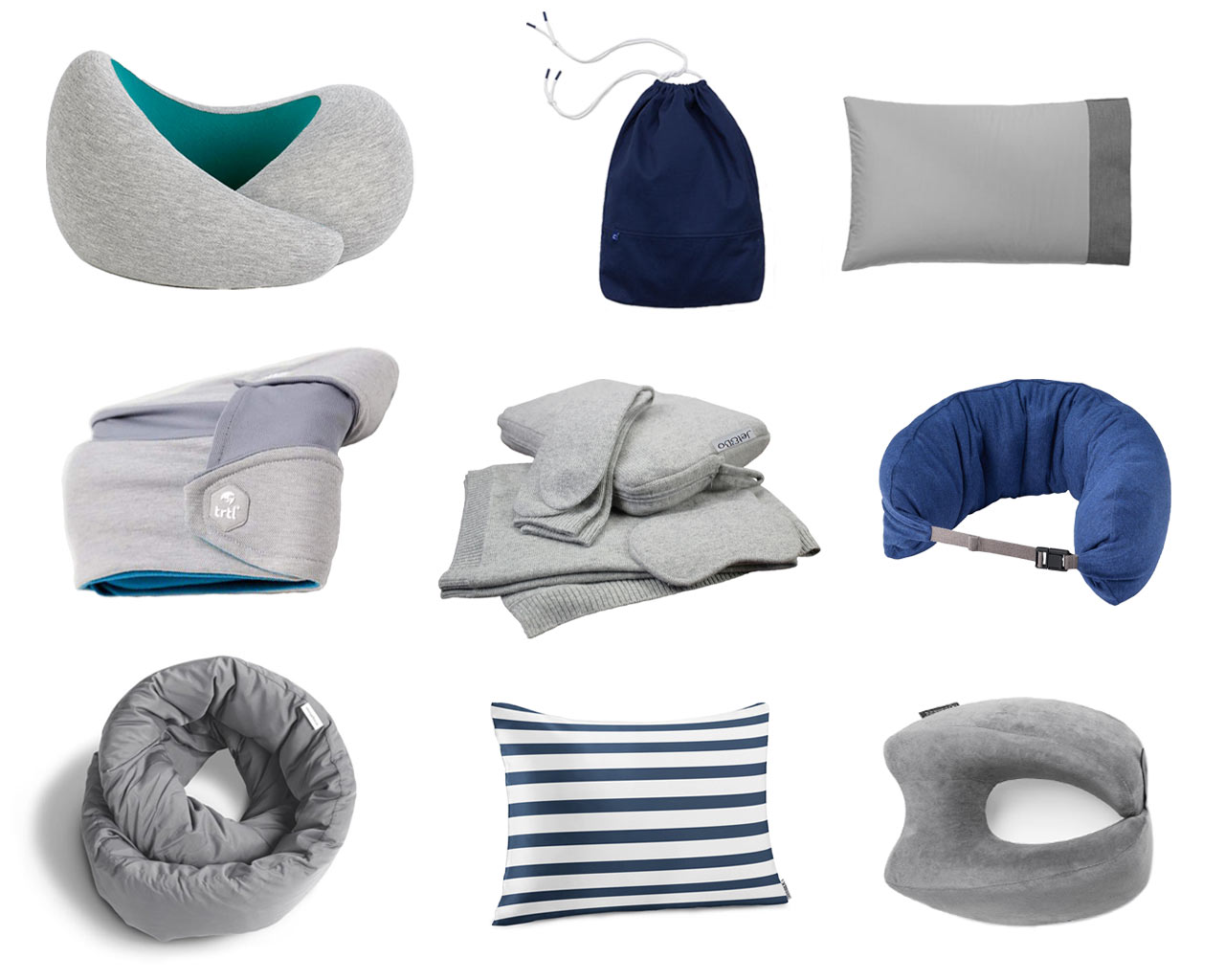 8 Travel Pillows so You Can Travel in Comfort