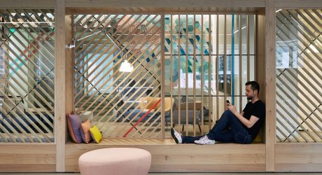 A Portland-Based Office That Colorfully Merges Co-Working and Solo Workspaces