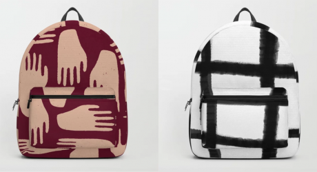 Back to School with Society6's Artsy Backpacks