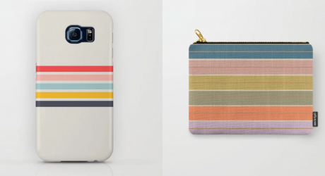 Beach Stripe Vibes with Society6