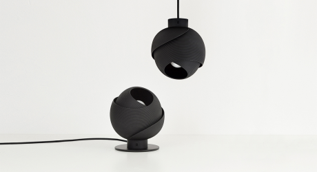 The 3D-Printed Fold Lamp Provides Atmospheric Illumination