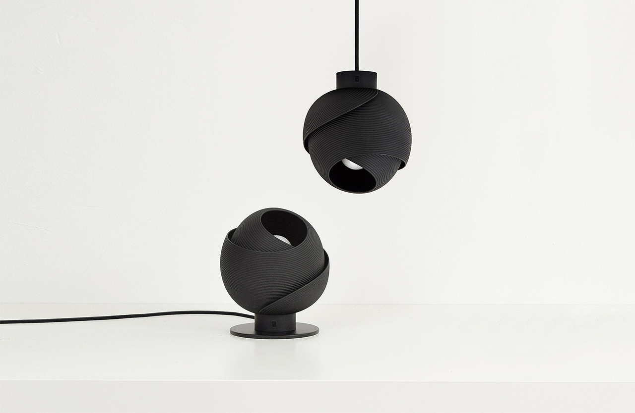 The 3D-Printed Fold Lamp Provides Atmospheric Illumination