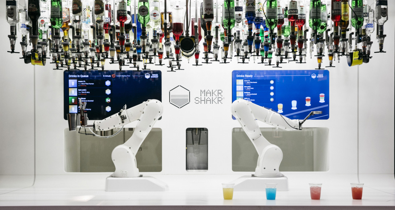 Makr Shakr Robotic Bartender Offers Stirring Glimpse of the Future of Automation