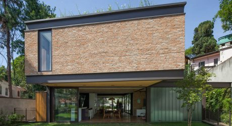 São Paulo's Pacaembu Residence Reused Old Materials for the New House