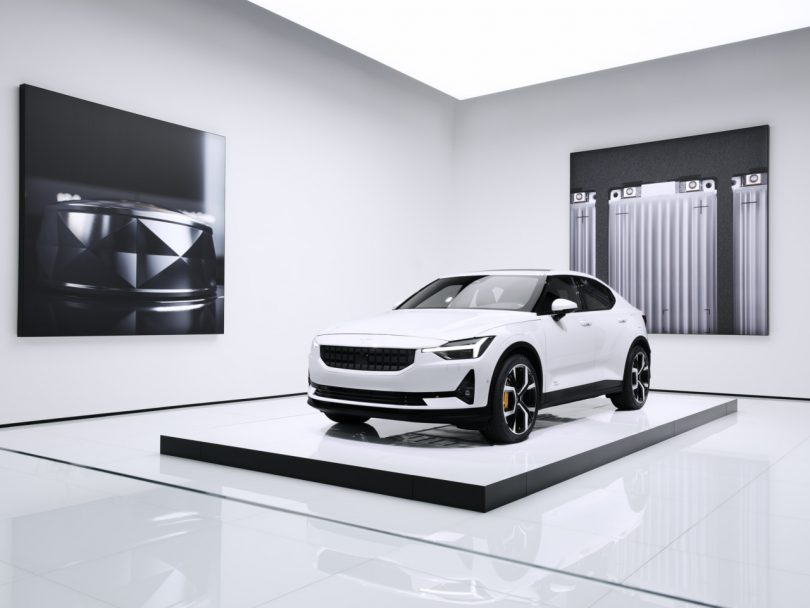 Architecture and Automotive Come Together at Polestar 2 Debut