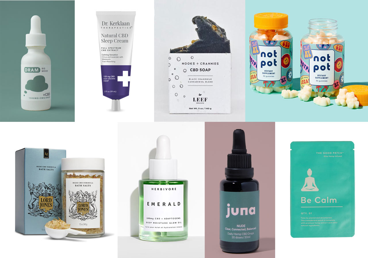 8 CBD Products Designed to Make You Look and Feel Better