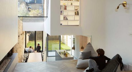 Scenario House Splits the Levels to Visually Connect the Spaces