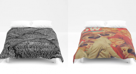 Update Your Nest for Autumn with Society6's Duvet Covers