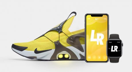 You'll Never Have to Worry About Tying Your Laces With the Nike Adapt Huarache