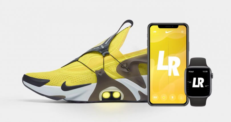 You?ll Never Have to Worry About Tying Your Laces With the Nike Adapt Huarache