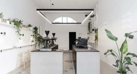 AENY Designs a Minimalist Coffee Shop for Scandinavian Brand Törnqvist
