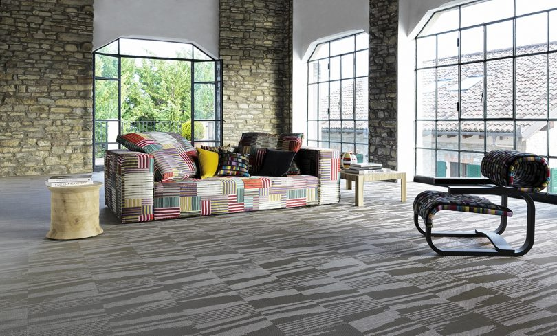 The New Missoni Home Flooring Collection Is An Explosion of Pattern + Color