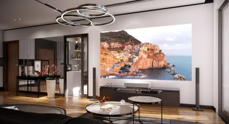 LG CineBeam AI ThinQ 4K Laser Projector Fits Into the Future of Home Entertainment