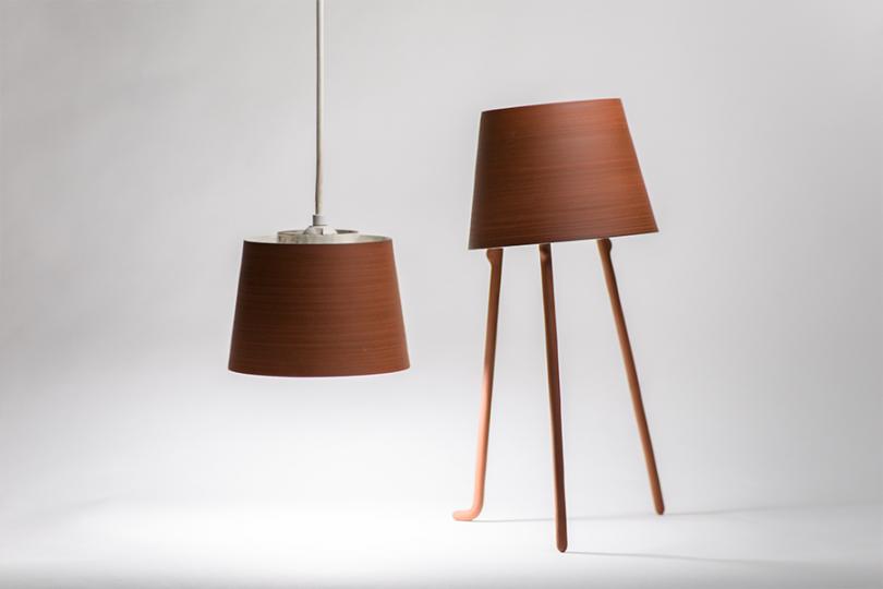 Léa & Nicolas's ceramics lamps