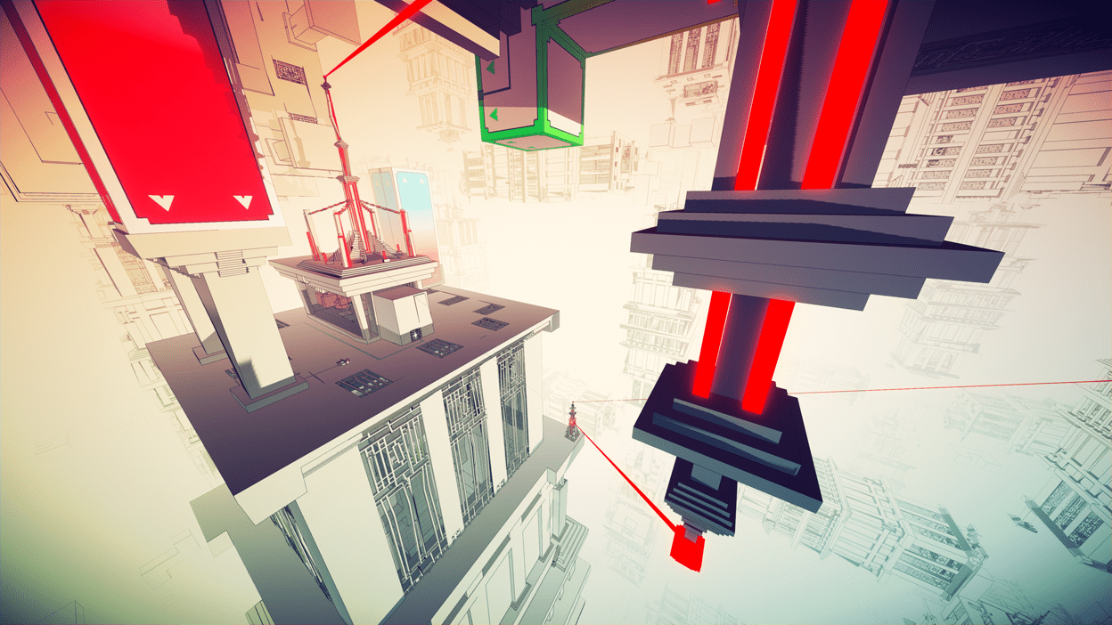 Exploring the Impossible Architecture of Manifold Garden