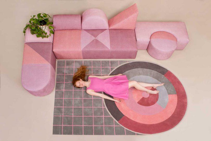 The Modular Pink Collection Celebrates the Bauhaus