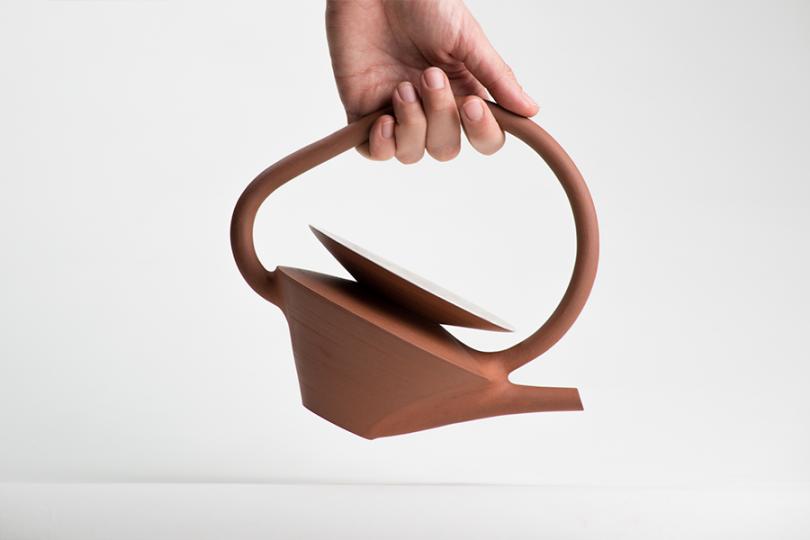 Léa & Nicolas's ceramics teapot