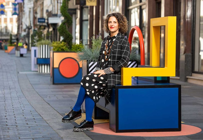 WORKFLOW: Camille Walala's Creative Process and Studio