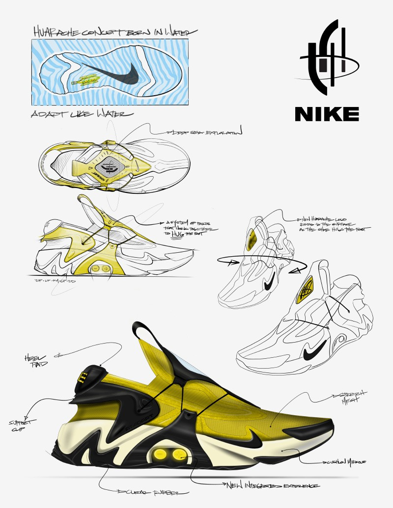You Ll Never Have To Worry About Tying Your Laces With The Nike Adapt Huarache